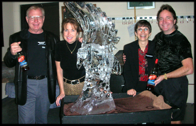 Woodward Wines Ice Sculpture Oct 2007